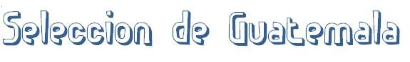 Logo for SELECCION DE GUATEMALA