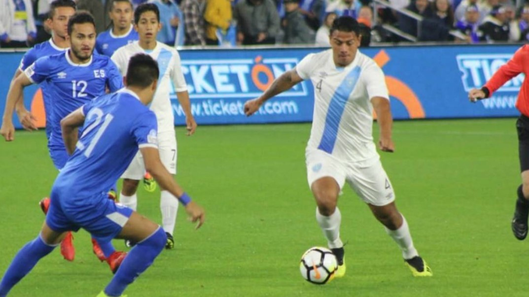 El Salvador vs Guatemala In the First National Team Friendly
