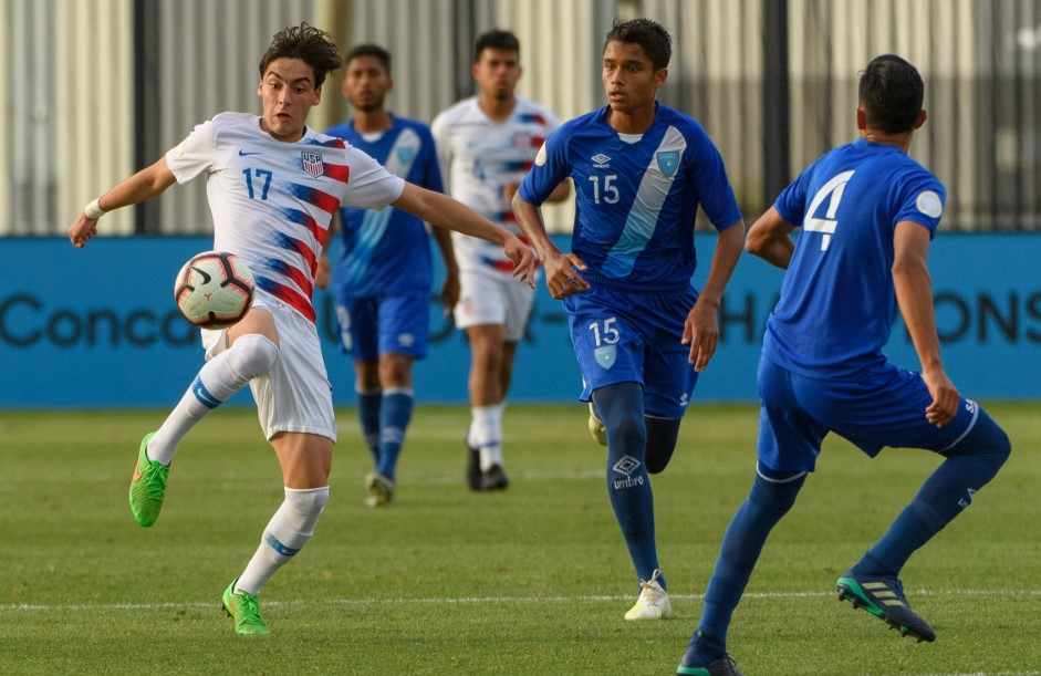 Review of U17 USA Won Over Guatemala 3-0 At Concacaf Tournament